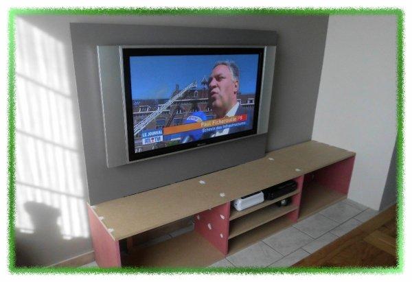 meuble tv fait maison ronny et vero