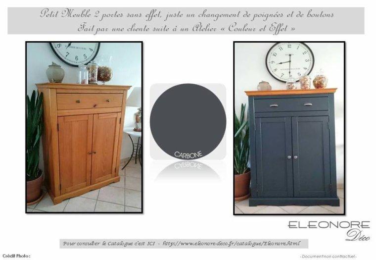 petit meuble 2 portes relooke blog