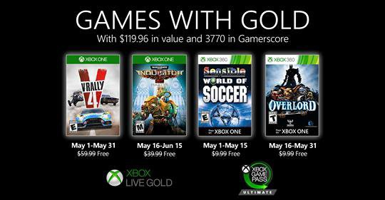 Game With Gold Mai 2020