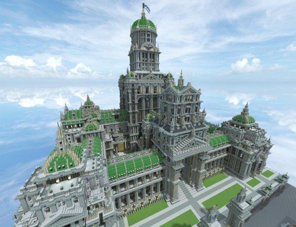 CHATEAU De MINECRAFT Minecraft De Tristan130