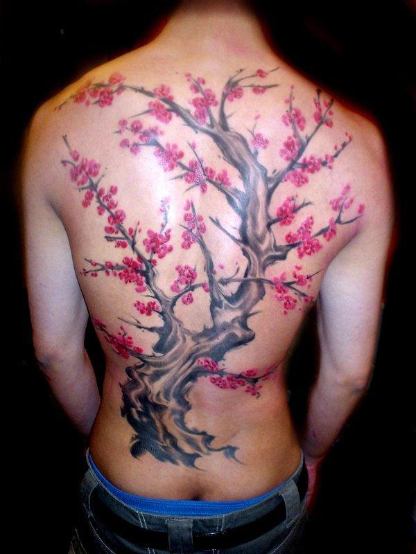 Cerisier Japonais Passion Tatouage