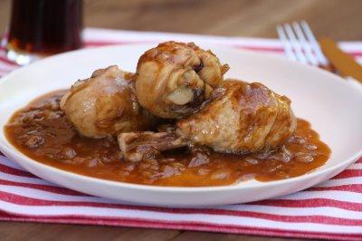 poulet au coca cola cookeo les