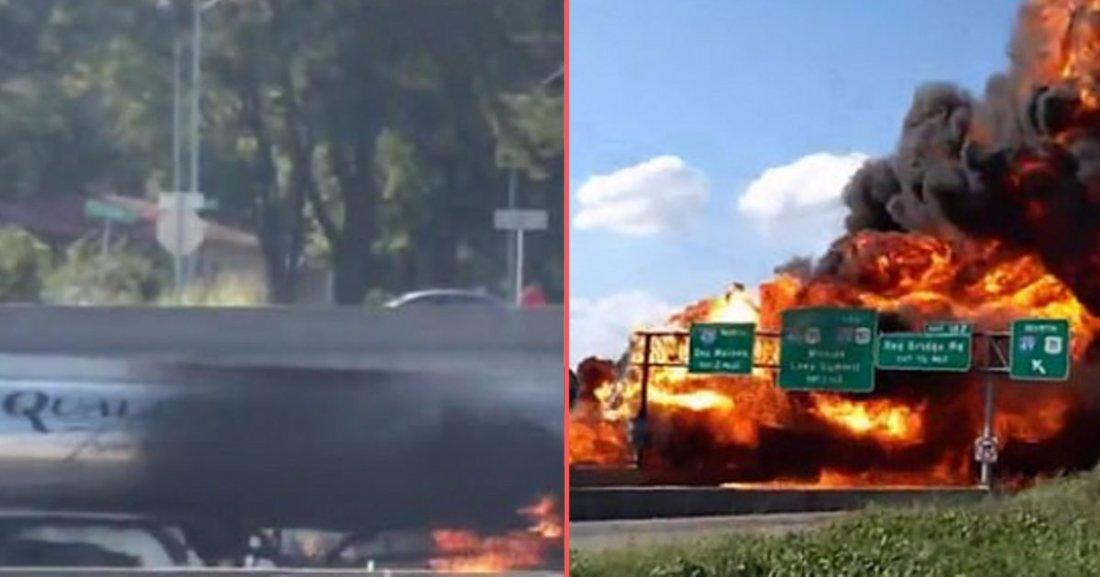 d 6 3.png?resize=1200,630 - Un ravitailleur en carburant a pris feu sur l'autoroute