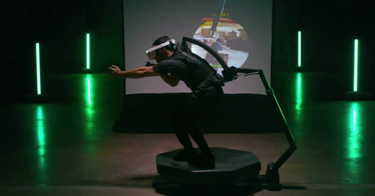 https www vonjour fr omni one le tapis roulant facon realite virtuelle