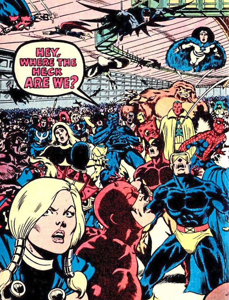 For some reason, Marvel superheroes in the 80s seemed to have a knack for getting kidnapped and forced into contests of champions of some sort.