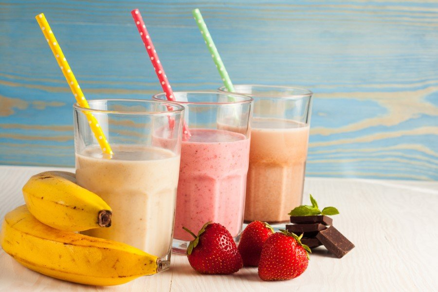 fast food 7 custom - How to make milkshakes?Here's strawberry milkshake recipe...