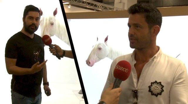 Sanatseverler olarak fuara katılan Sanatçı Keremcem ve Server Demirtaş'ın kuzeni genç iş adamı Ceyhun Cenk Demirtaş da muhteşem atla ilgili Sözcü mikrofonuna hislerini anlattı.