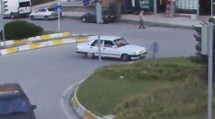 """Çorum'da araçlarıyla """"drift"""" yapan 10 sürücüye toplam 50 bin 100 lira para cezası uygulandı. FOTO:AA"""
