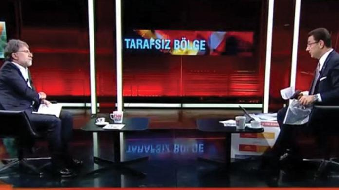 Ekrem İmamoğlu ile yayın yapan Ahmet Hakan'a Turgay Güler benzetmesi!