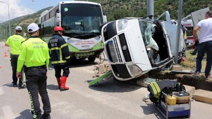 Bayram tatilinin 6 günlük kaza bilançosu: 62 ölü, 536 yaralı