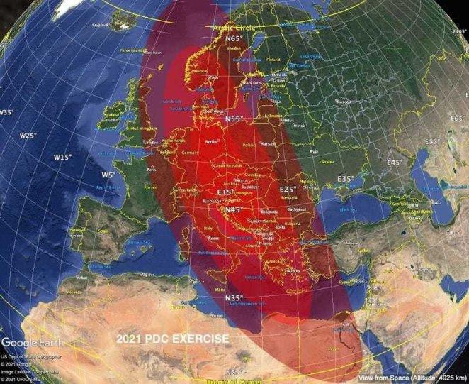 NASA, Dünya'ya bir gök taşı çarpması ihtimaline hazırlanıyor 13