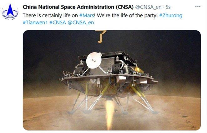 Çin'den tarihi adım: Mars'a ilk kez uzay aracı indirdiler 14