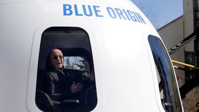 Jeff Bezos uzaya çıkıyor: Tarih verdi