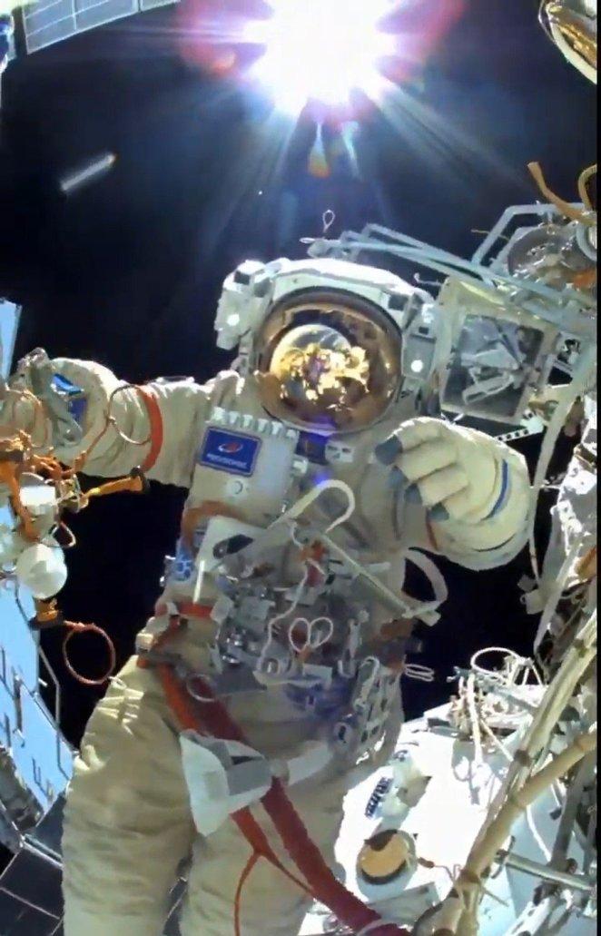 Rus kozmonotlar Nauka modülünde işbaşında 16