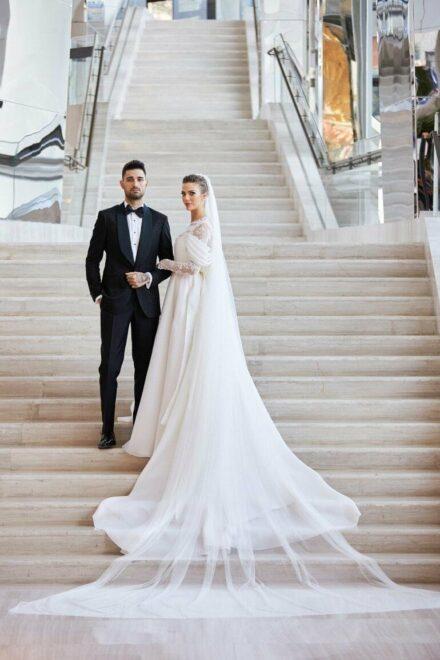İdo Tatlıses ile Yasemin Şefkatli evlendi! Düğüne ünlüler akın etti