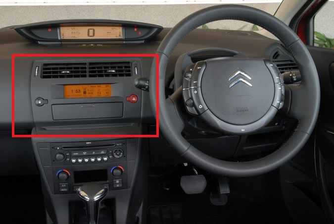 Citroen Will This Panel Fit A C4 For Possible Onboard PC