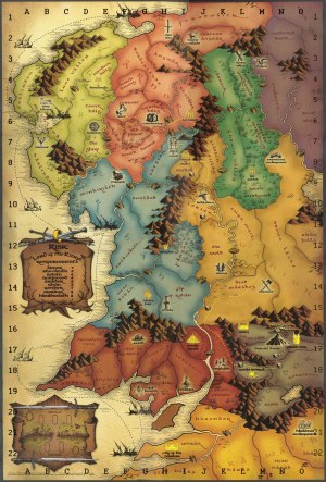 tolkien  Is there a map of Frodo's journey during the