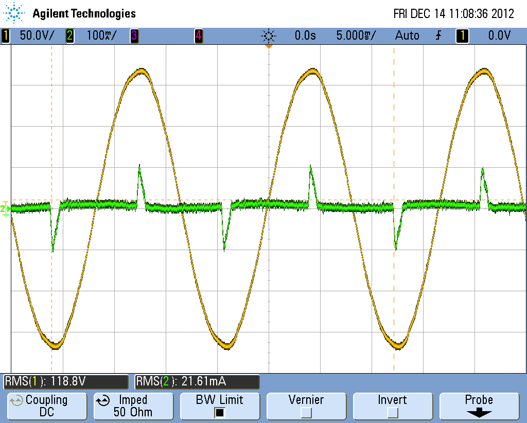 How To Calculate Real Power And Power Factor Using An Oscilloscope