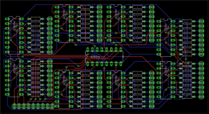 eagle  Board layout help: 64output Mux! (for possible use in 8x8x8 LED Cube)  Electrical