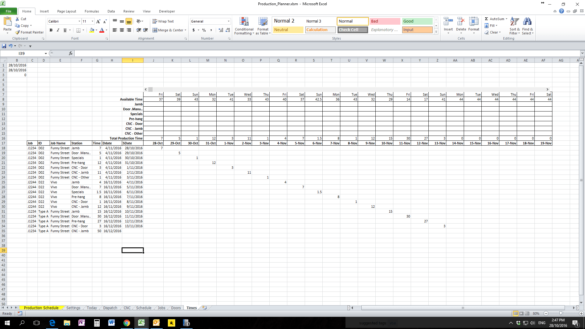 Worksheet From Workbook C