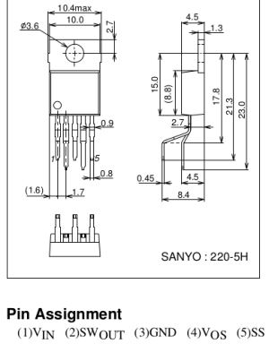 power supply  Newb Voltage regulator pinout question