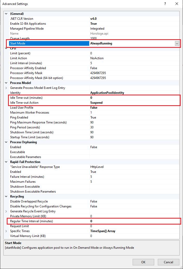 I want set this settings: