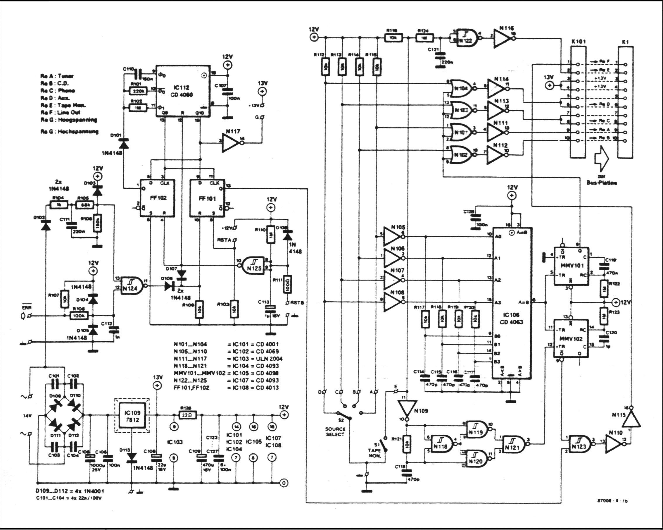 Power Relay Schematic