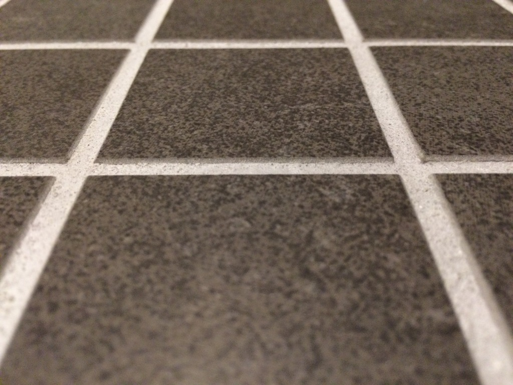 how can i make this tile floor smoother