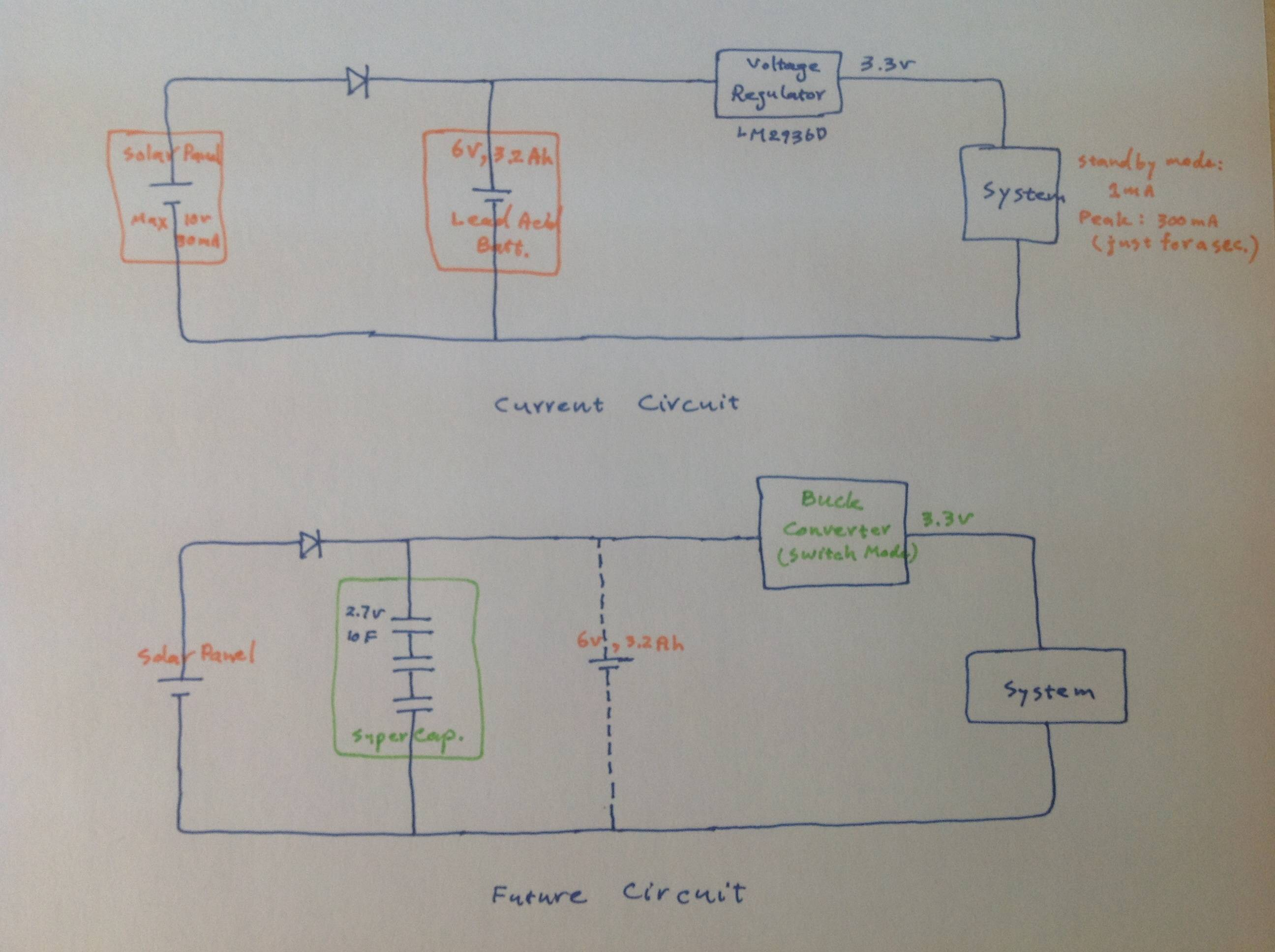 Solar Cell Circuit Diagram Wiring