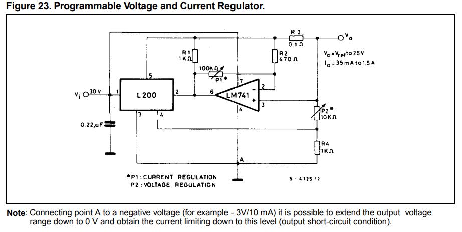 Adjustable L200 PSU Help