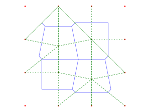 geometry  How to triangulate from a Voronoï diagram