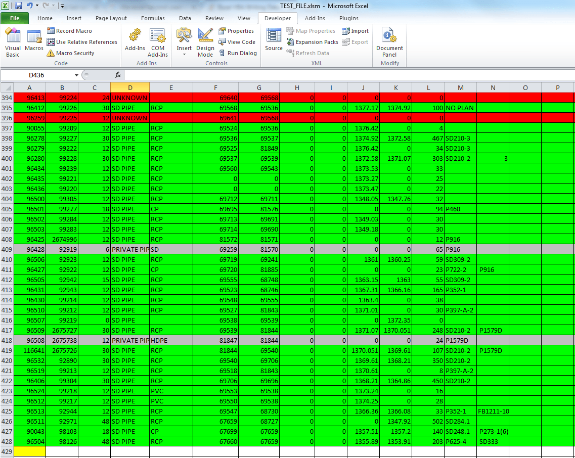 Excel Vba Writing Data Outside Of Usedrange
