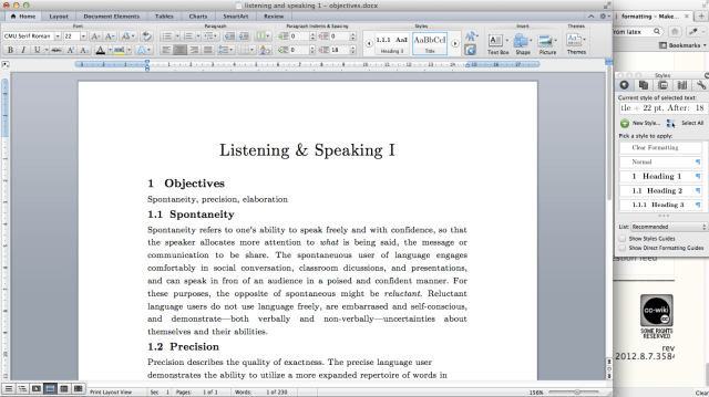 Make MS Word document look like it has been typeset in LaTeX - TeX