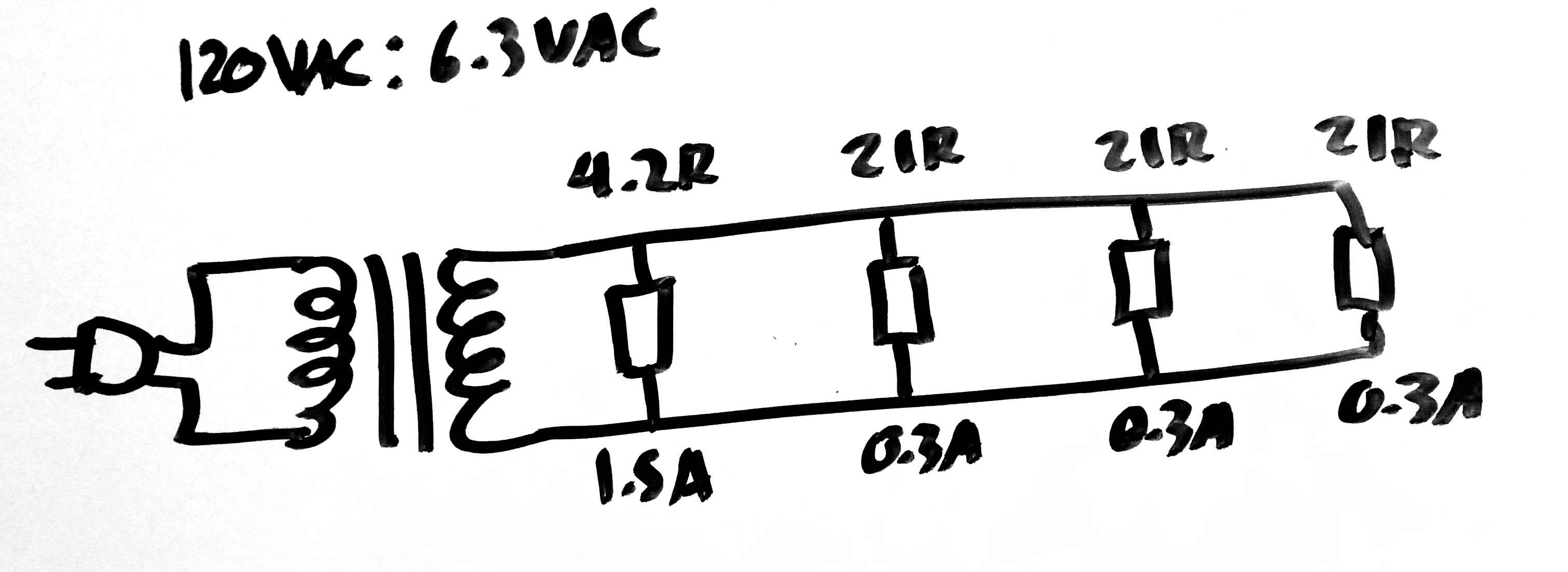 Why Does Dc Load Draw Twice As Much Ac Current Through Transformer