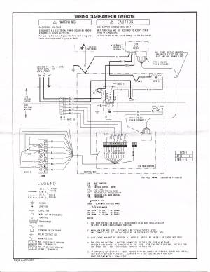 hvac  Converting from a Trane XT500C AC Thermostat to