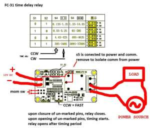 timer  How to wire this delay relay switch  Electrical Engineering Stack Exchange