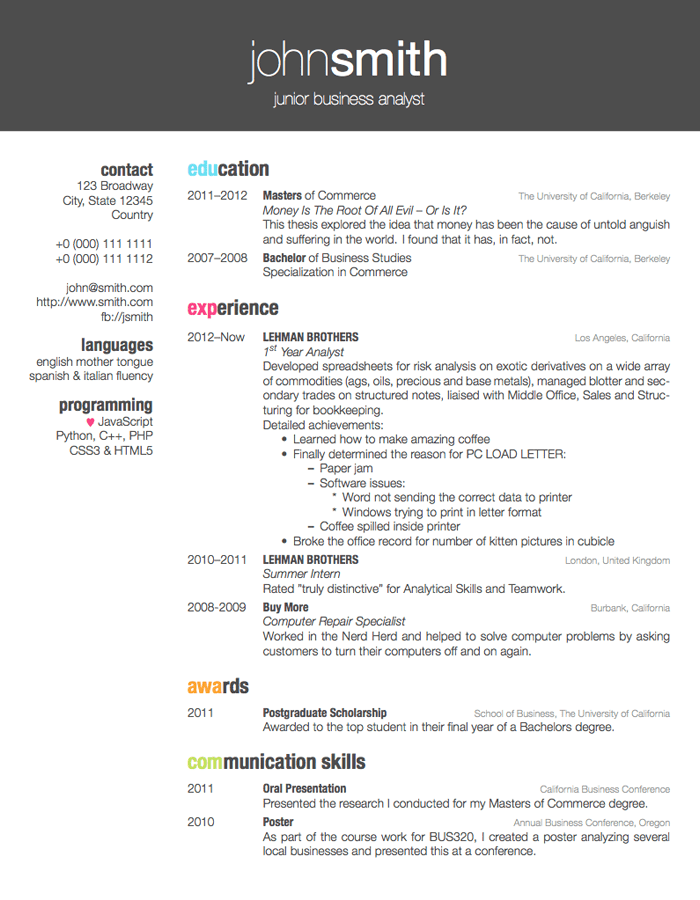 color for a section in friggeri resume cv tex latex stack exchange