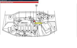 air intake  How to access the Idle Air Control Valve