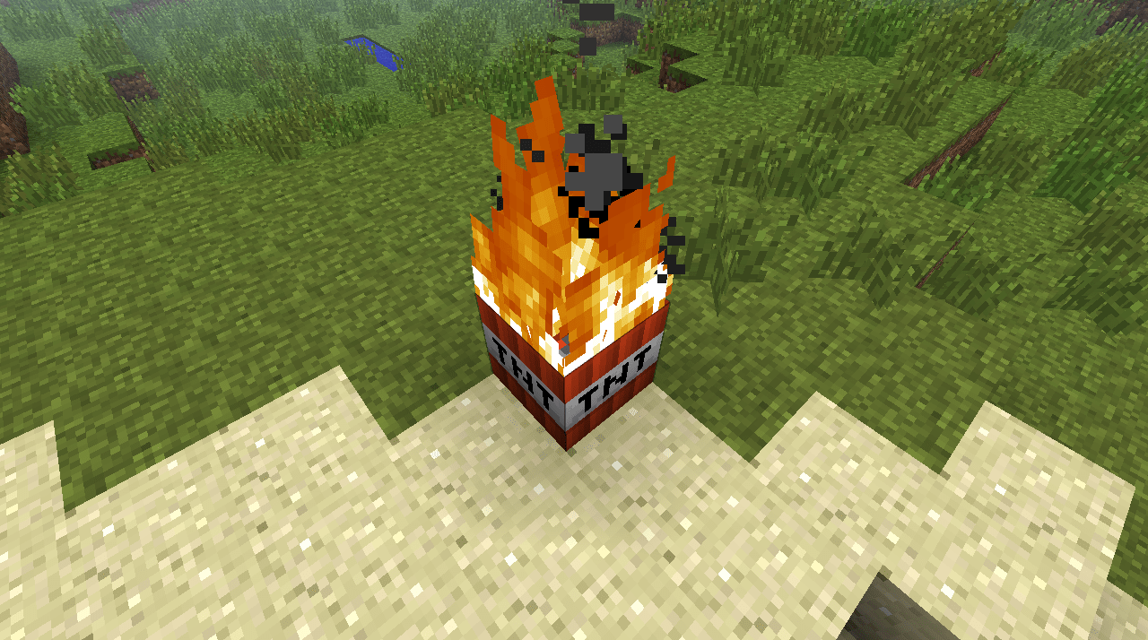 Minecraft Through What Ways Can TNT Be Ignited Arqade