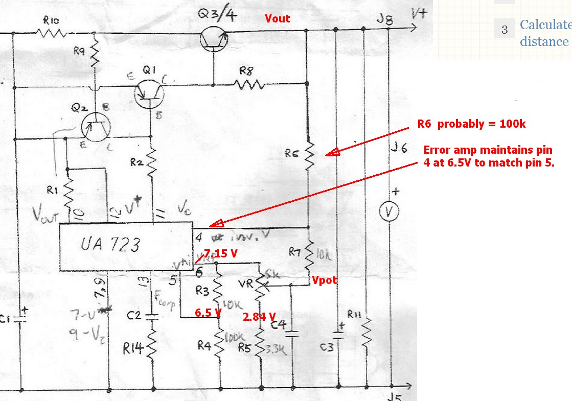 Lm723 Power Supply  Auto Electrical Wiring Diagram