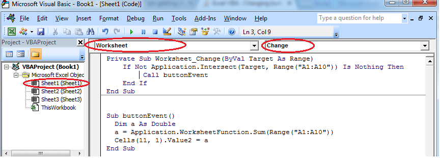 Excel Vba Changing Button Click Event Into Cell Value