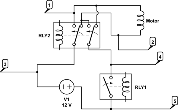 Double Pole Double Throw Relay Wiring Diagram With Flyback
