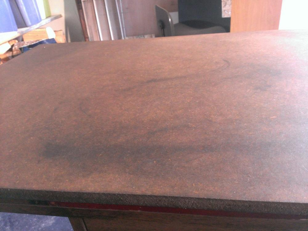 Staining Best Way To Correct Splotchy Stain Job On MDF