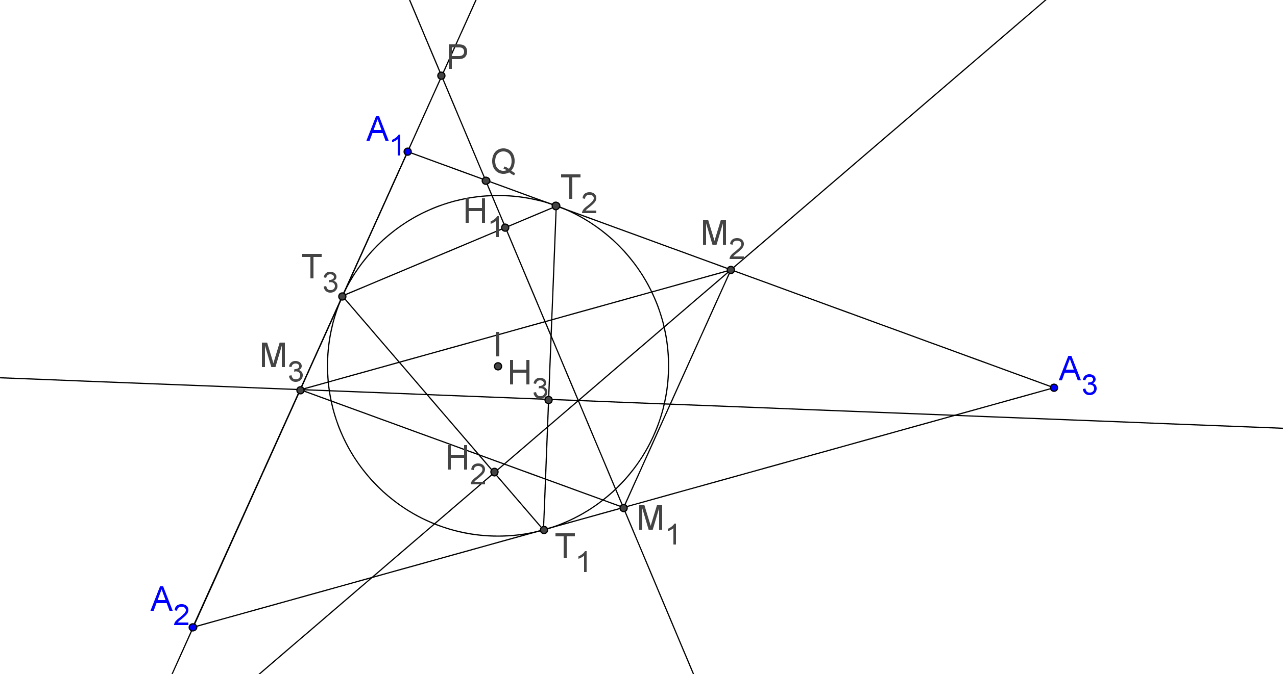 Contest Problem In Geometry