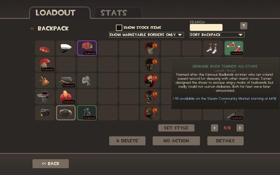 team fortress 2 - What TF2 items can I sell to the Steam ...