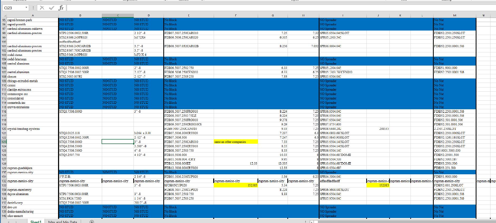 Inserting Blank Rows In Excel Vba
