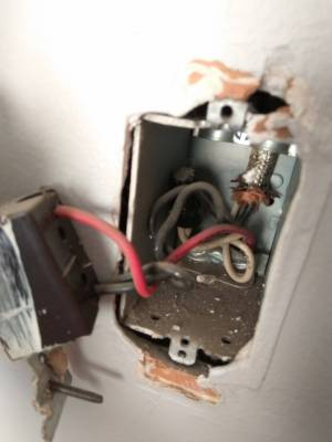 electrical  Changing old light switch 2 black wires and 1 red  Home Improvement Stack Exchange