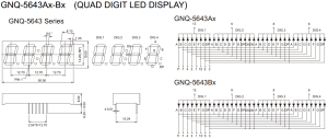 led  How to control a sevensegment display with 4 digits