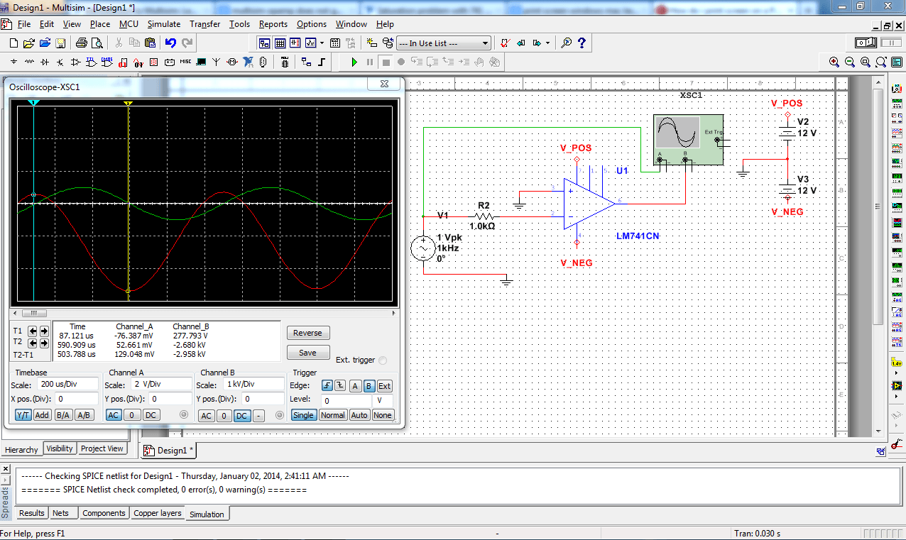 741 Op Amp Comparator Circuit Opampcomparatorcircuit
