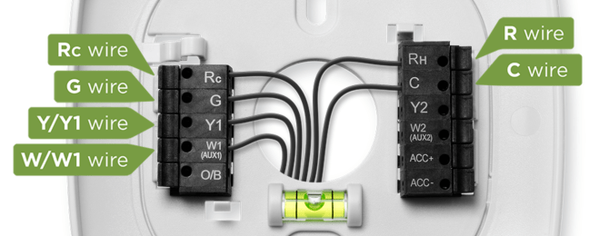 hvac wiring for wifi thermostat installation ecobee gas